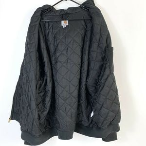 Carhartt Shirts - Carhartt Hooded Sweatshirt Mens 3XL Quilted lining